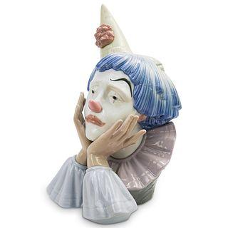 Lladro Jester Porcelain Figurine