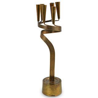 Yad Vashem Jerusalem Holocaust Candle Holder