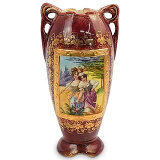 Antique Austrian Ceramic Vase
