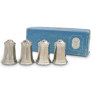 (4 Pc) Gorham Pewter Shakers