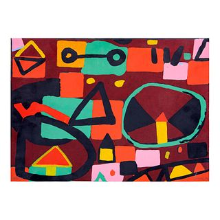 RUBEN LEYVA. Sin título. Firmada. Serigrafía, 74/100 Sin enmarcar. 28 x 38 cm
