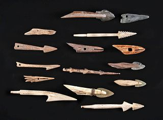 12th C. Native American Inuit Artifact Assortment