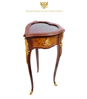 A Faberge Heirloom Furniture Collection Heart