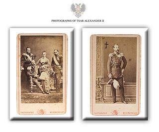 Tsar Alexander II, Original St. Petersburg Photographs