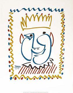 CARNAVAL DE NICE 1951, PICASSO ORIGINAL LITHOGRAPH, COA