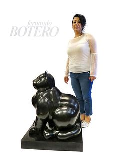Monumental Botero Sculpture. Signed. Numbered W/Foundry