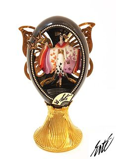 Madame Butterfly, The Franklin Mint ERTE Music Box Egg