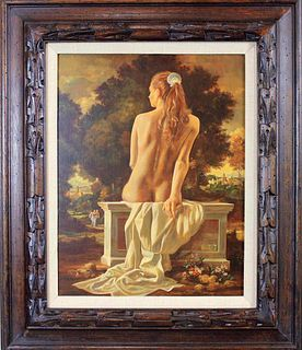 RUSSELL R. TRIPP (United States, 20th C.) Oil on Board