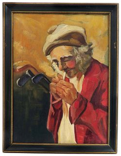 Golf Man, Sir John Lavery STYLE Oil on Canvas Painting