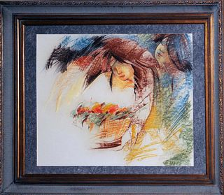 A painting by Hessam Abrishami, Signed