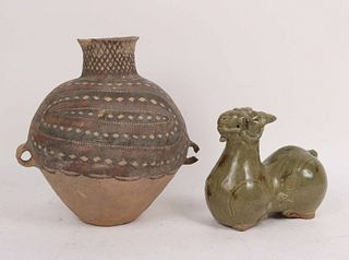 Chinese Celadon Pottery Sheep