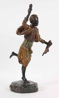 T. Curts, Austrian Bronze Orientalist Sculpture
