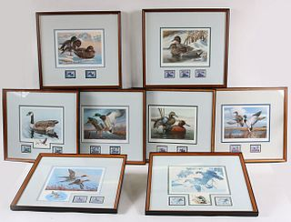 Eight Duck Stamp Prints
