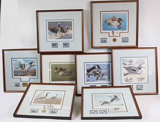 Eight Waterfowl Stamp Prints