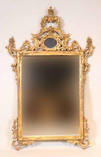 Rococo Giltwood Pier Mirror