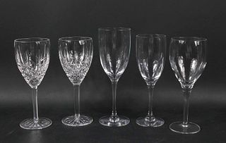 Orrefors Faceted Crystal Stemware