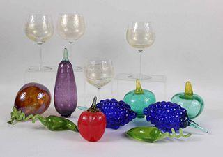Kosta Boda Art Glass Vegetables and Fruit