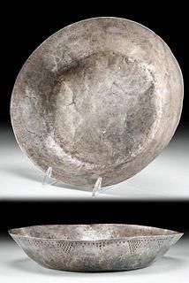 Rare 9th C. Viking Silver Ritual Bowl
