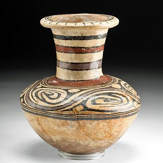 Cocle Polychrome Amphora - Nicely Decorated