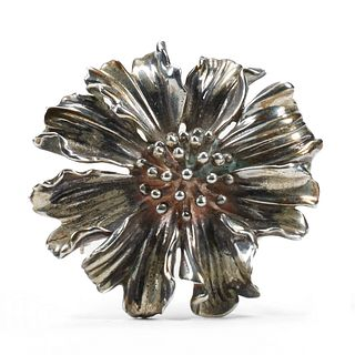 Tiffany & Co. Marigold Silver Brooch