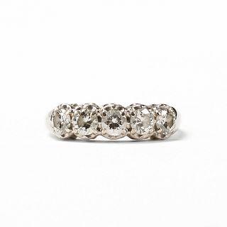 Kaynar 14K White Gold Diamond Ring