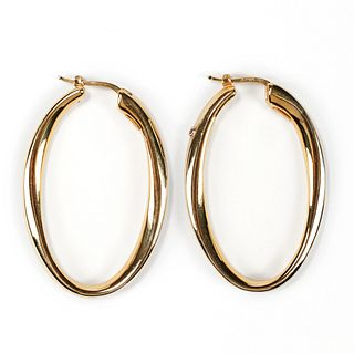 Roberto Coin 18K Gold Hoop Earrings