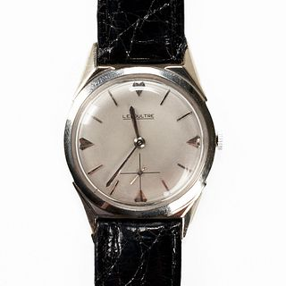 LeCoultre 32mm 14K White Gold Wrist Watch