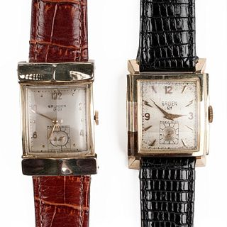 Grp: Vintage Gruen Precision Manual Wrist Watches
