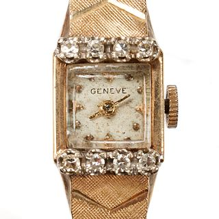14K Gold Geneve Women's Watch
