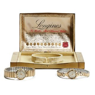 Grp: 2 Longines Ladies Watches w/ Box
