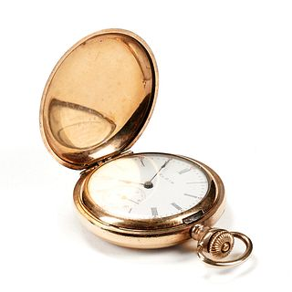 Elgin 10K Gold Filled Pocket Watch