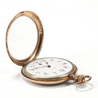 Lewis Gold-Filled Pocket Watch