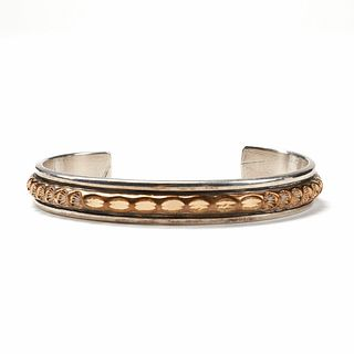 Marc Antia Gold Filled Sterling Cuff Bracelet