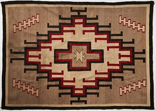 Navajo SW Native American Rug Weaving Blanket