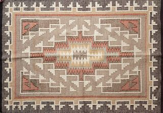Navajo Blanket Rug Double Sided Weave