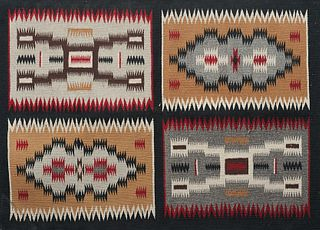 20th C. Storm Pattern Navajo Rug