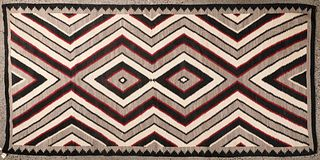 Navajo Blanket Double Medicine Man's Eye 5' x 11'