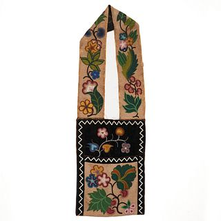 Woodlands Beaded Bandolier Bag