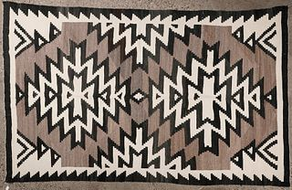 Two Grey Hills Navajo Blanket 5x10