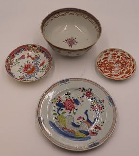 Chinese Porcelain Grouping.