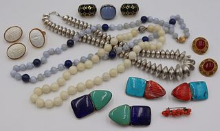 JEWELRY. Gold, Silver, and Signed Jewelry Grouping