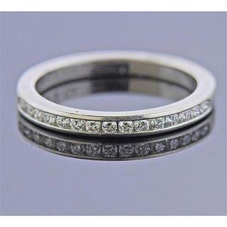 Tiffany & Co Platinum Diamond Band Ring