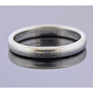 Tiffany & Co Platinum Wedding Band Ring