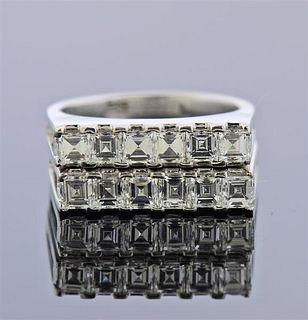 14k Gold Diamond Ring Set of 2