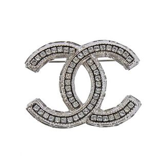 Chanel CC Brooch Pin