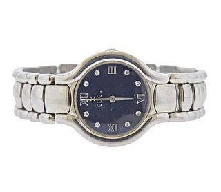 Ebel Beluga Diamond Stainless Steel Lady's Watch