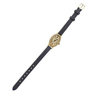 Torneau 18k Gold Diamond Lady's Watch