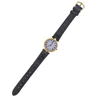 Cartier Paris 18k Gold Quartz Watch
