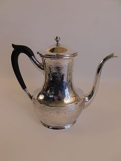 ANTIQUE STERLING SILVER TEAPOT