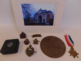 WWI MEDAL LOT FOR YATES